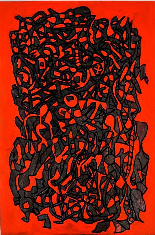 Imprints Paris Claudio Arezzo di Trifiletti Painting Moulin Rouge