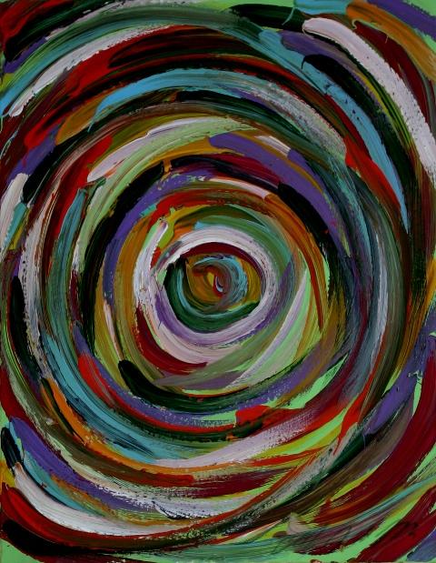 113 - Vortice di colore
