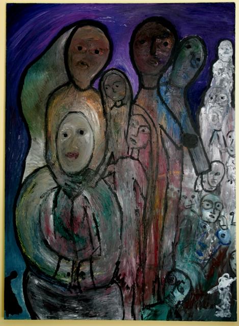 146 - La famiglia in mezzo alla guerra e alla preghiera