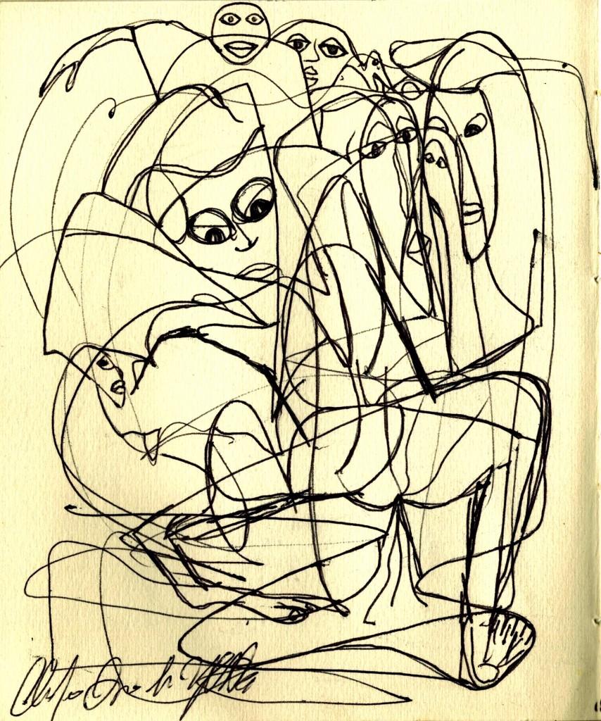 disegni claudio arezzo di trifiletti 2004