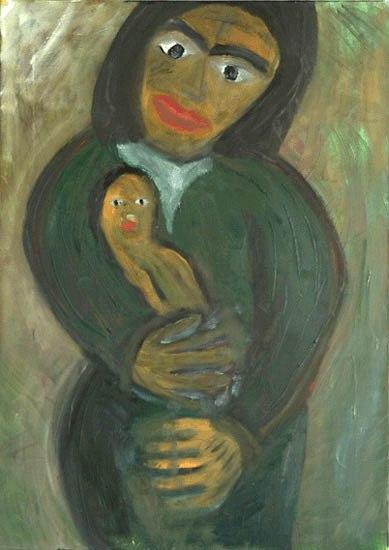 La madre dell'uomo cucciolo