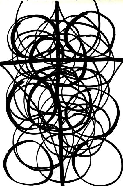 vede l'inizio e la fine dentro un cerchio animato