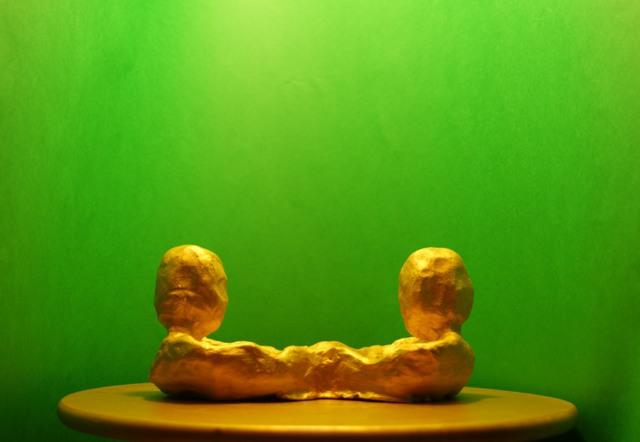 glina slikano zlato
