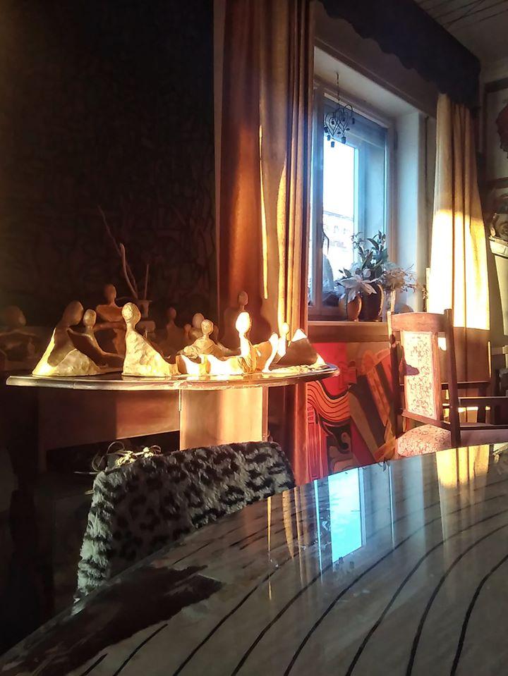 Casa Museo sotto l'Etna - Corpi d'argilla dipinti d'oro