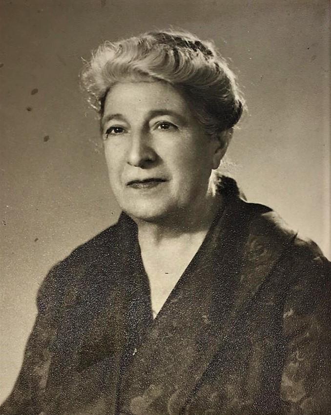 Nonna Maria, bisnonna da parte di madre.