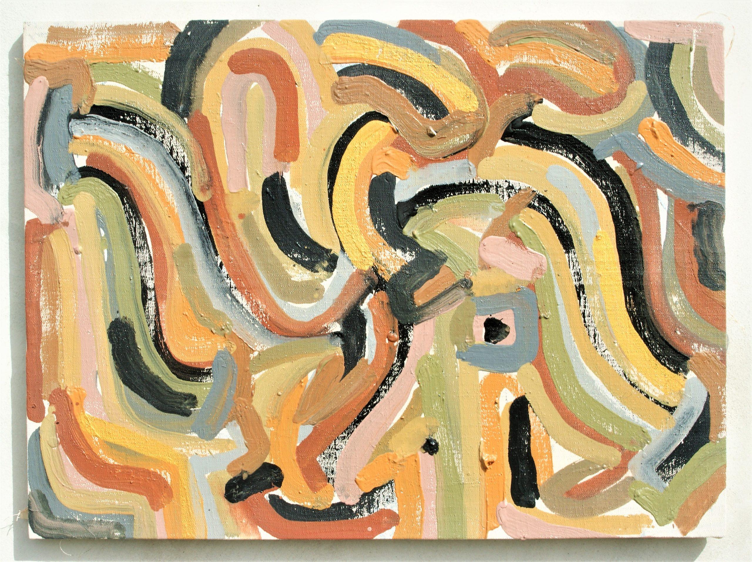 Marmo Scontato - Acrylic 67/50 cm.