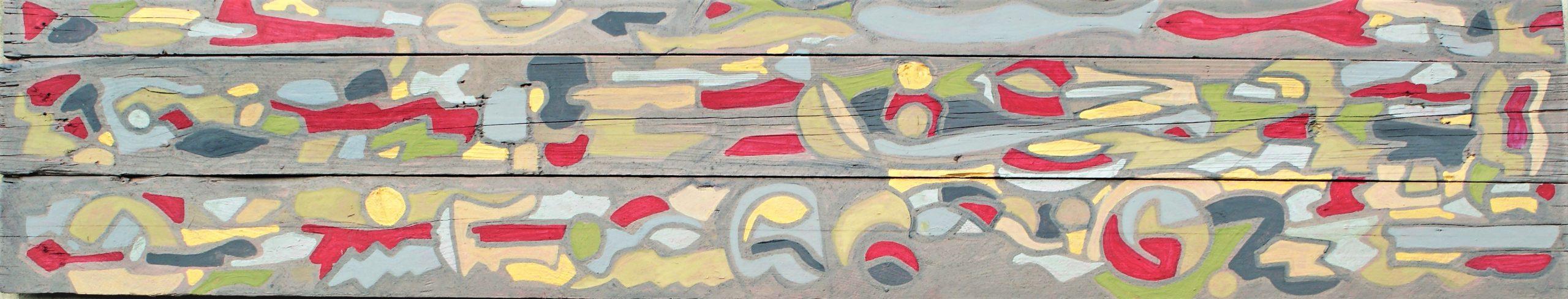 Maya - Legni di Mare, Acrylic 200/40 cm.